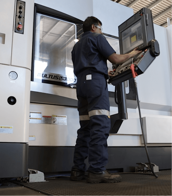 High speed CNC manufacturing of components