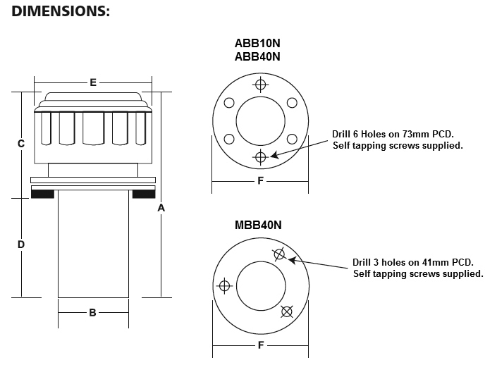 ABB & MBB (Chrome Plated Steel Cap) dimensions (1)