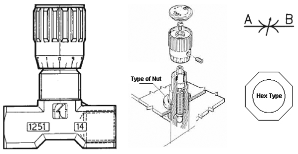 Double Acting Flow Control Valve dimensions (1)