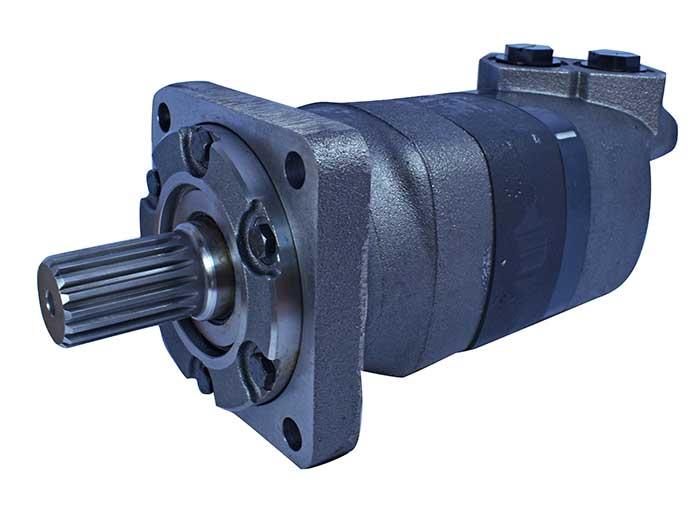 4 bolt sae cc square mount 1 1 2 17 tooth spline shaft for Char lynn 6000 series motor specs