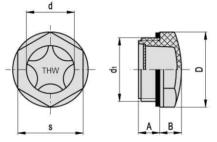 Site Glass (SG Series) dimensions (1)