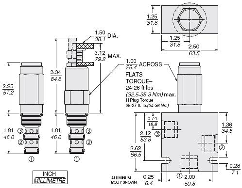PR10-32A-0-N-04 / PR10-32A-0-N-08 / PR10-32A-0-N-21