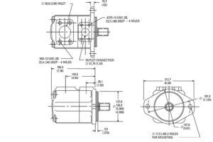 eaton-vickers-vane-pump-dimensions