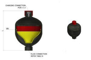 diaphragm-accumulator-dimensionsF